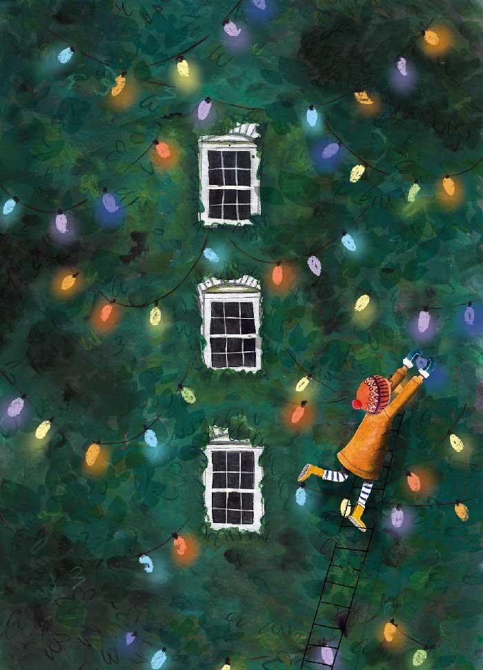 Christmas is here - Eigen Werk ©MariannevanderWalle