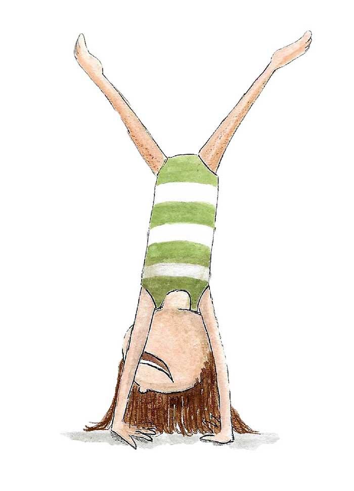Handstand - Course MATS ICB ©MariannevanderWalle